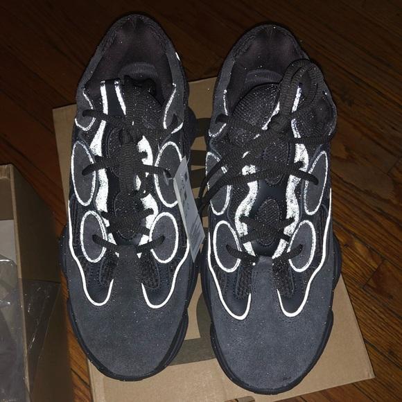 3db7a752dab72 Adidas Yeezy 500 Utility Black